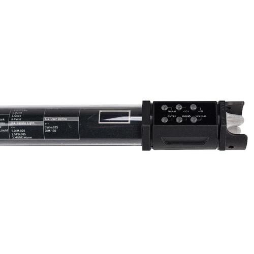 NanLite PavoTube 15C 2 ft RGBWW LED Tube with Internal Battery - 2 Light Kit