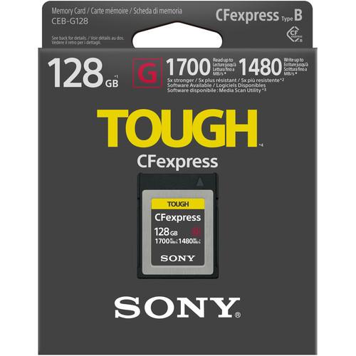 Sony 128GB CFexpress Type B Tough Memory Card