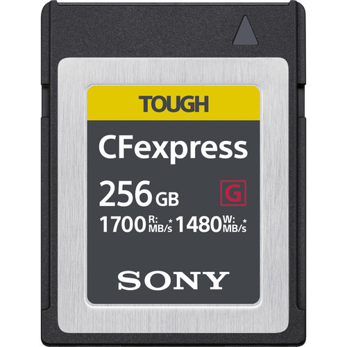Sony 256GB CFexpress Type B Tough Memory Card *Special Order Item*