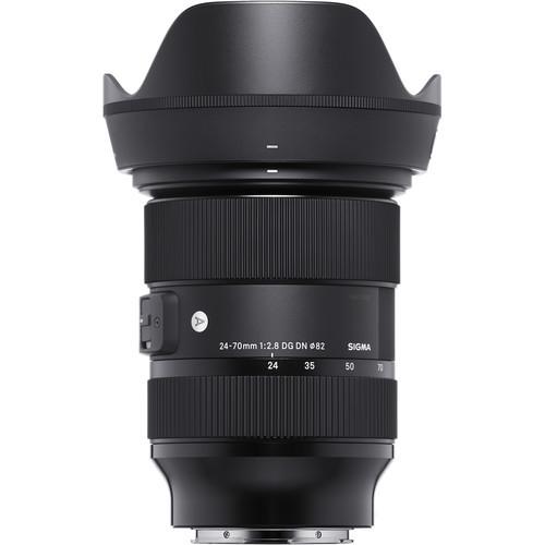 Sigma 24-70mm f/2.8 DG DN Art Lens for Sony E Mount
