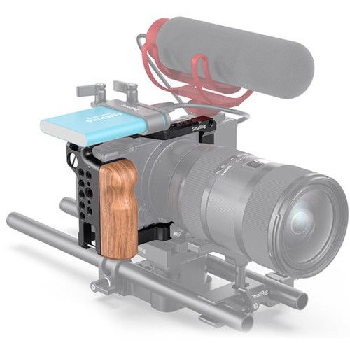 SmallRig Camera Cage with Wooden Grip for Sigma FP