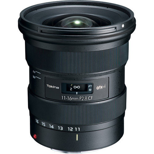 Tokina atx-i 11-16mm f/2.8 CF Lens for Canon EF