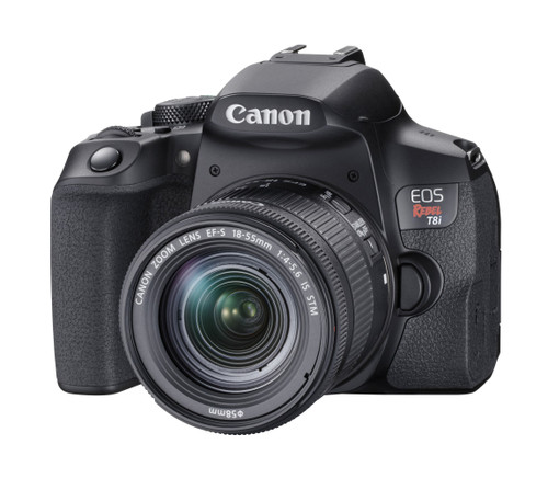 Canon EOS Rebel T8i DSLR Camera Body (Lens Not Included)