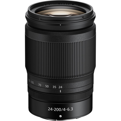 Nikon NIKKOR Z 24-200mm f/4-6.3 VR Lens *Comes with a Free 32GB Memory Card*