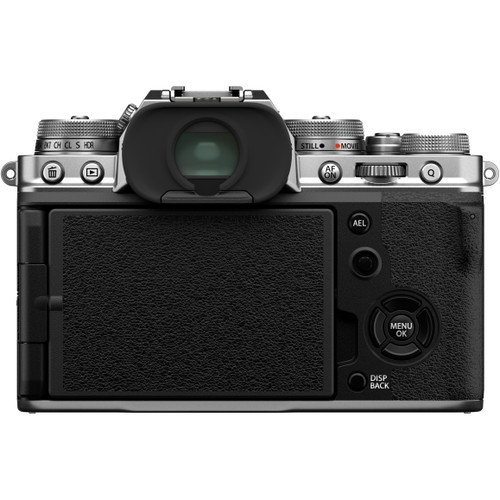 FUJIFILM X-T4 Mirrorless Camera Body - Silver