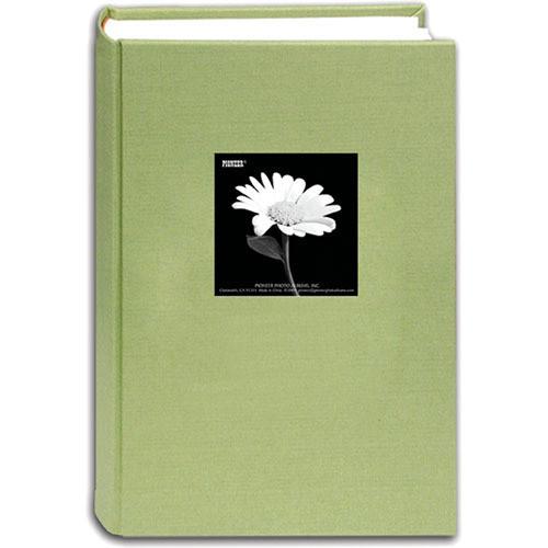 Pioneer Fabric Frame Bi-Directional Photo Album - Sage Green