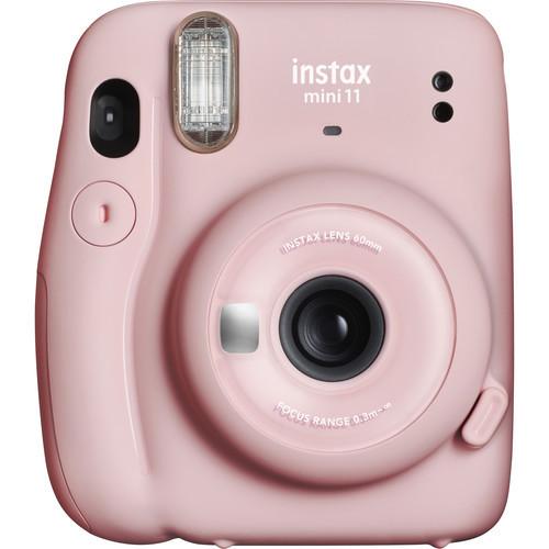 FUJIFILM INSTAX Mini 11 Instant Film Camera - Blush Pink
