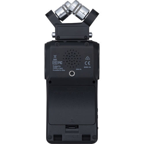 Zoom H6 6-Input / 6-Track Portable Handy Recorder with Single Mic Capsule