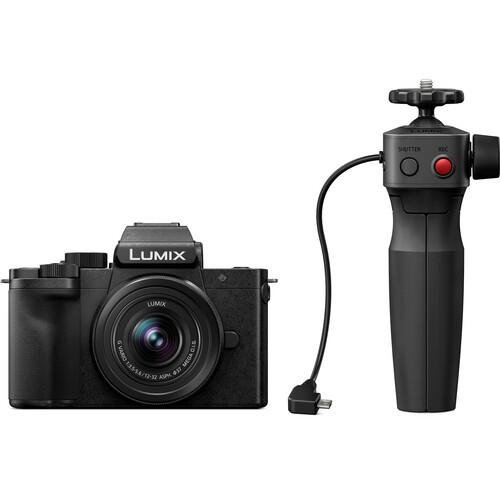 Panasonic Lumix DC-G100 Mirrorless Digital Camera with 12-32mm Lens and Tripod Grip Kit