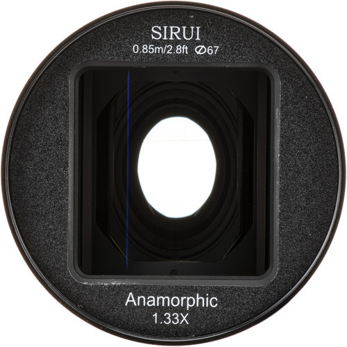 Sirui 50mm f/1.8 Anamorphic 1.33x Lens - Micro Four Thirds