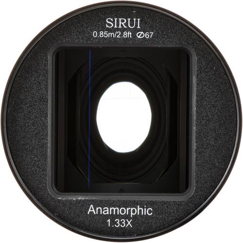 Sirui 50mm f/1.8 Anamorphic 1.33x Lens - Micro 4/3