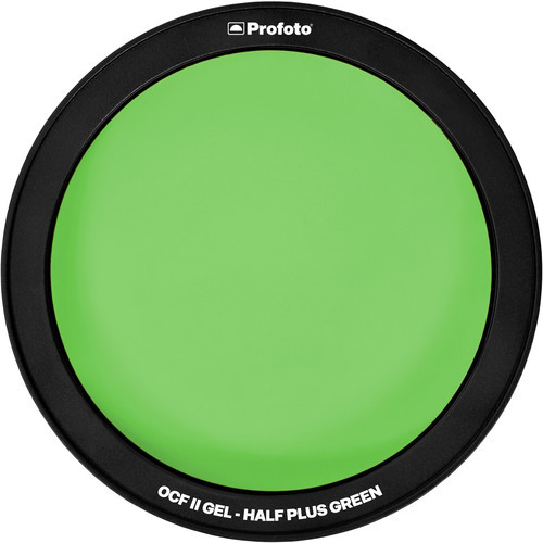 Profoto OCF II Gel Filter - Half Plus Green