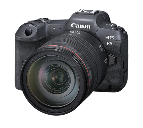 Canon EOS R5 Mirrorless Camera with 24-105mm f/4L Lens