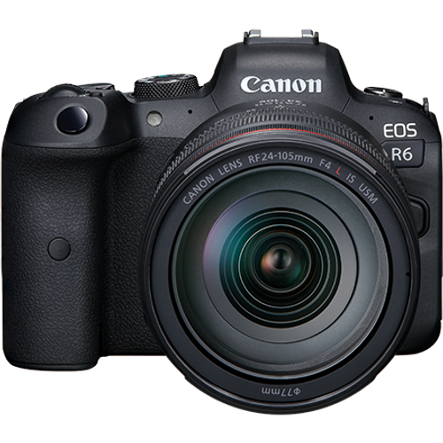 Canon EOS R6 Mirrorless Camera Body (Lens Not Included)