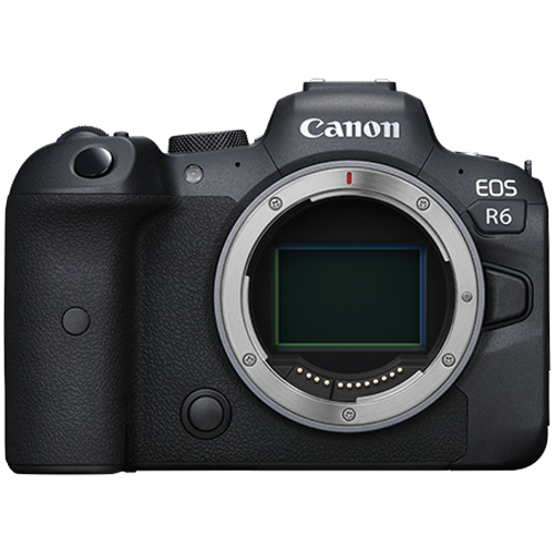 Canon EOS R6 Mirrorless Camera with 24-105mm f/4L Lens