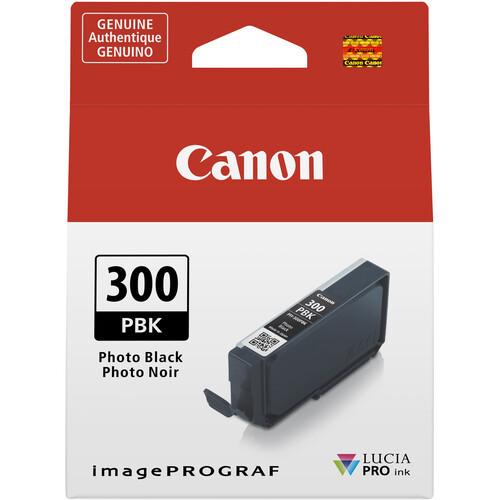 Canon PFI-300 Ink Tank - Photo Black