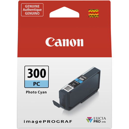 Canon PFI-300 Ink Tank - Photo Cyan