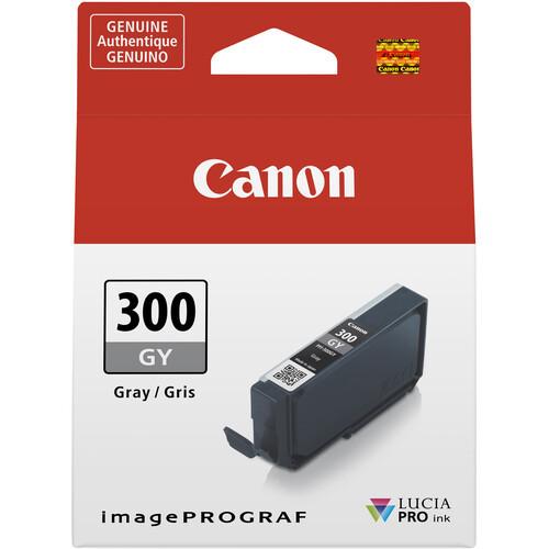 Canon PFI-300 Ink Tank - Gray