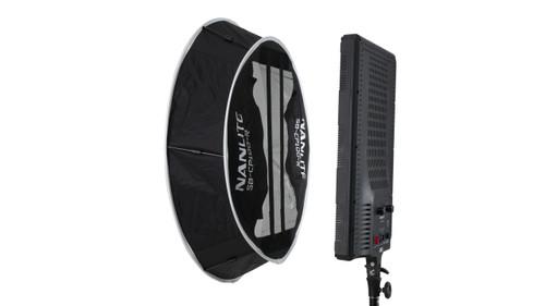 Nanlite Compac 100 and 100B Collapsible Lantern Softbox - Black