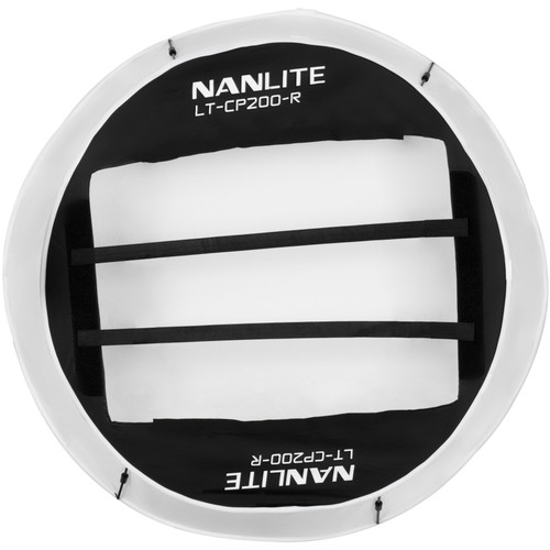 Nanlite Compac 200 and 200B Collapsible Lantern Softbox - White
