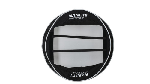 Nanlite Compac 200 and 200B Collapsible Lantern Softbox - Black