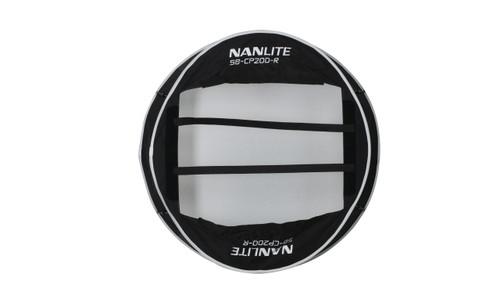 NanLite Compac 200 and 200B Collapsible Lantern Softbox - Black