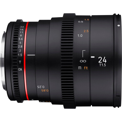 Rokinon 24mm T1.5 DSX High-Speed Cine Lens - Sony E Mount
