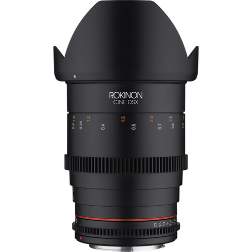 Rokinon 35mm T1.5 DSX High-Speed Cine Lens - Sony E Mount