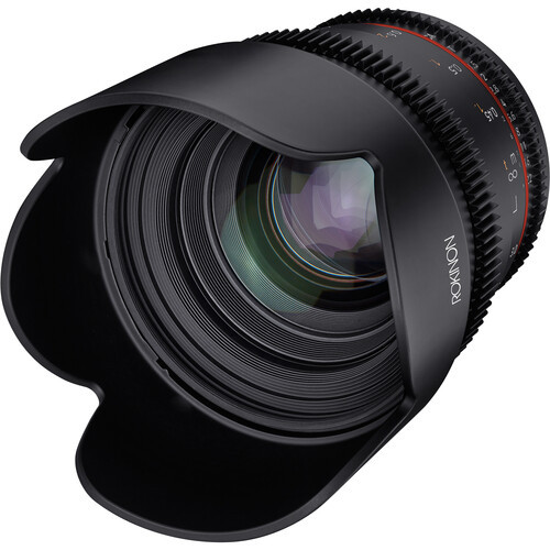 Rokinon 50mm T1.5 DSX High-Speed Cine Lens - Canon RF Mount