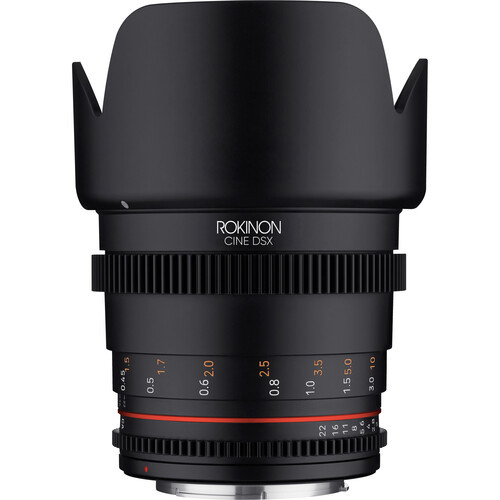 Rokinon 50mm T1.5 DSX High-Speed Cine Lens - Sony E Mount