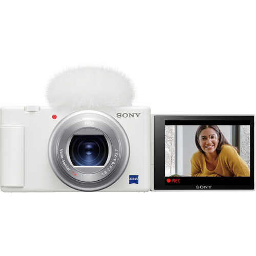 Sony Cyber-shot ZV-1 Digital Camera - White