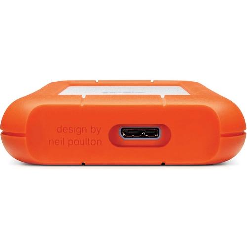 LaCie Rugged Mini USB 3.0 External Hard Drive - 1TB
