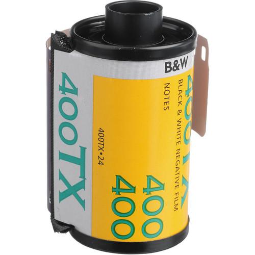 Kodak Professional Tri-X 400 Black and White Negative Film- 35mm Roll Film, 24 Exposures
