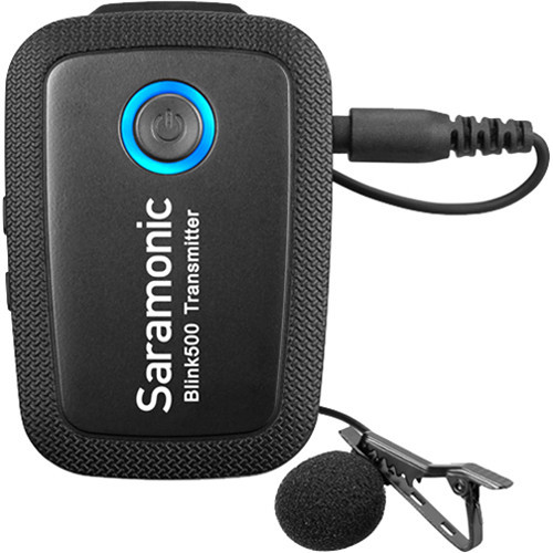Saramonic Blink 500 B4 2-Person Digital Wireless Omni Lavalier Microphone System for Lightning iOS Devices - 2.4 GHz