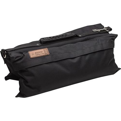 Kupo Touch-Fastener Refillable Sandbag - 22.4lb, Black