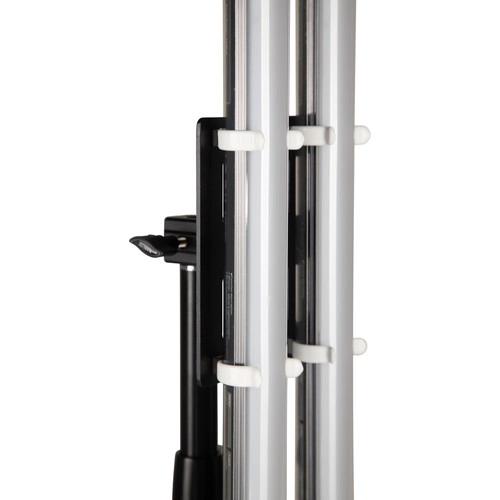 "NanLite PavoTube Double Bank T12 LED Tube Gooseneck Mount with 5/8"" Receiver"