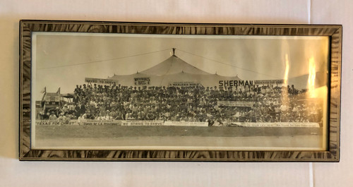 Framed Panoramic Photo by Unknown Artist