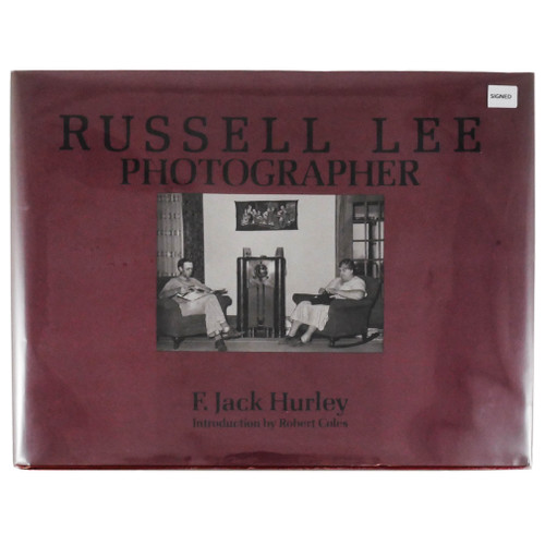 Russell Lee: Photographer by F. Jack Hurley and Russell Lee (First Edition, Signed Copy)