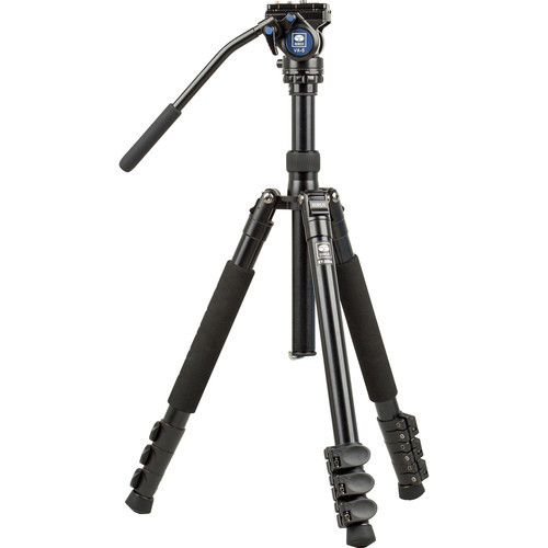 Sirui ET-2004 Aluminum Tripod with VA5 Video Head Kit