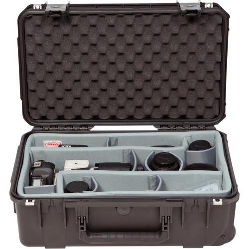 SKB iSeries 3i-2011-7 Waterproof Case- Think Tank Designed Photo Dividers