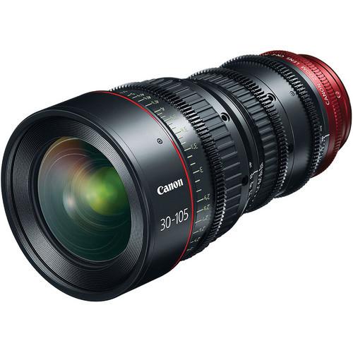 Canon CN-E 30-105mm T2.8 L S Cinema Zoom Lens - EF Mount