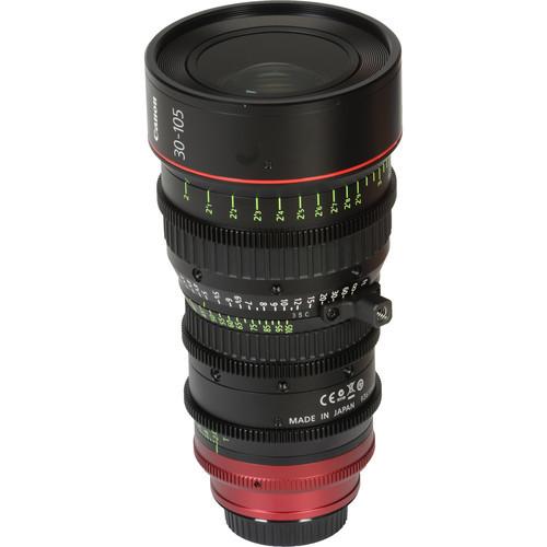 Canon CN-E 30-105mm T2.8 L SP Cinema Zoom Lens - PL Mount