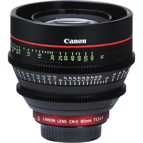 Canon CN-E 85mm T1.3 L F Cinema Prime Lens - EF Mount