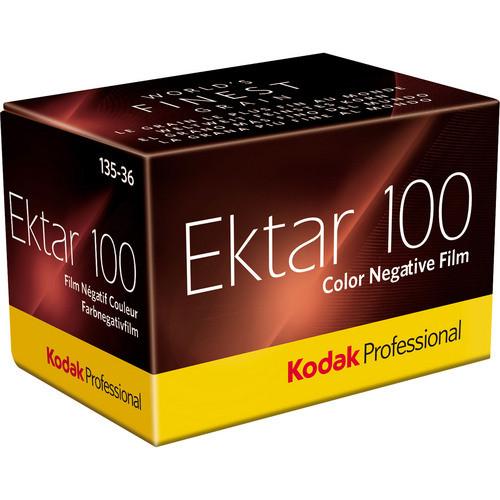 Kodak Professional Ektar 100 Color Negative Film- 35mm Roll Film, 36 Exposures
