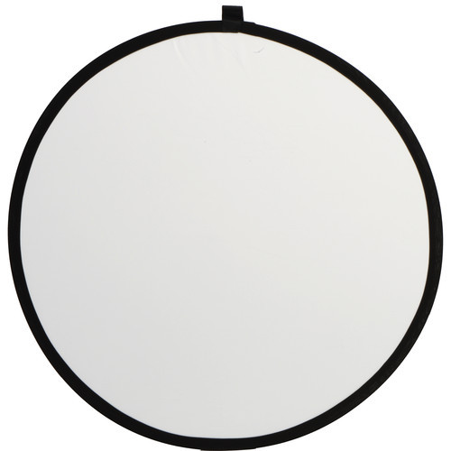 """Rogue Collapsible 2-in-1 Reflector - 32"""", Silver/White"""