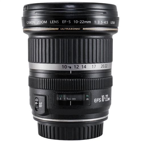 Used Canon EF-S 10-22mm f/3.5-4.5 USM Lens (EX) (625285489)
