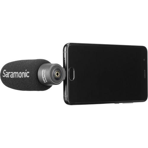 Saramonic SmartMic+ Smartphone Microphone for USB-C