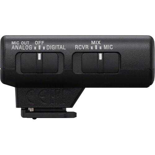 Sony ECM-W2BT Camera-Mount Digital Bluetooth Wireless Microphone System
