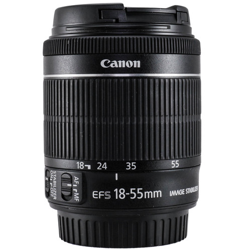 Used Canon EF-S 18-55mm f/3.5-5.6 IS STM Lens (EX) (625287049)