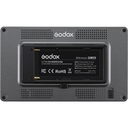 "Godox GM55 5.5"" HDMI Touchscreen Monitor"